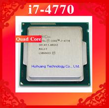 Core i7 4770 3.4GHz 8M SR149 Quad Core Eight threads desktop processors Computer CPU Socket LGA 1150 pin