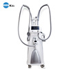 Body shaping weight loss machine with Vacuum RF Roller LED and IR