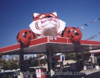 giant inflatable Canopy Tiger for advertising
