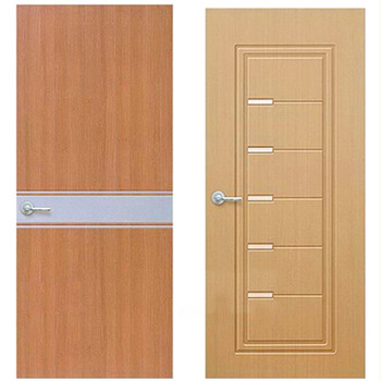Cheap Price Knotty Pine Wood Door Interior Wood Door With Good