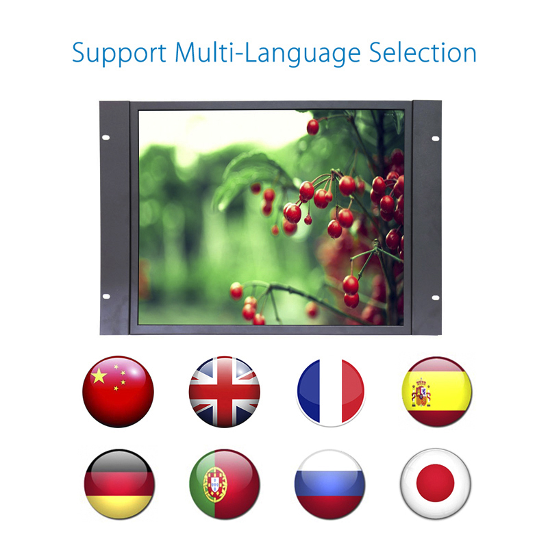 19 inch capacitive touch screen led monitor  19 inch 4:3 tft lcd monitor