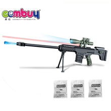 Top selling high quality plastic toys soft crystal bullet gun