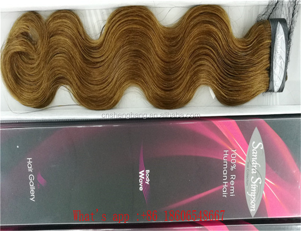 "Promotion! 100%human hair weft Body wave 18"" and 22"" brown 30# ,8a,body wave human hair peruvian"
