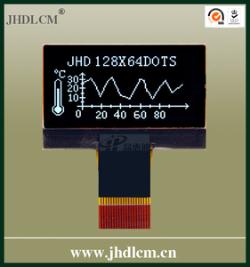 Backlight Small Lcd Display with good viewing angle JHD12864-G06BTW-BL-3