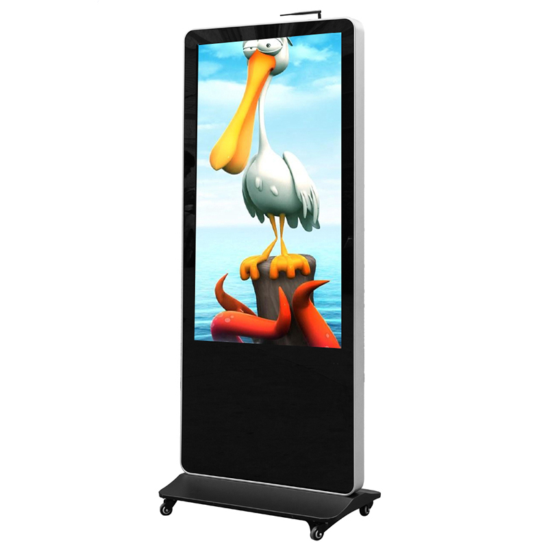 High quality 32'' totem <strong>Advertising</strong> in <strong>Advertising</strong> players for shopping mall , photo mirror booth China Factory Supplier