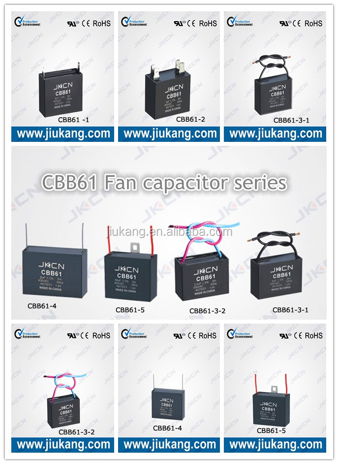 Fan Parts Ceiling Fan Wiring Diagram Capacitor Cbb61