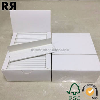 Custom cigarette papers