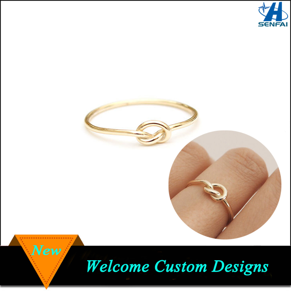 Latest Gold Ring Designs Simple Love Knot Gold Ring Designs For ...