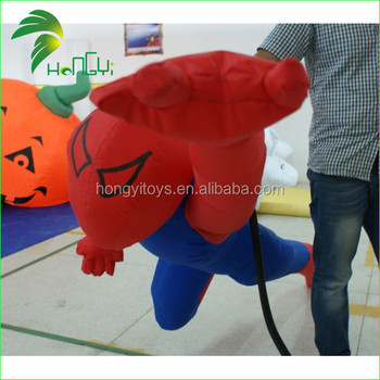inflatable super man,inflatable cartoon character