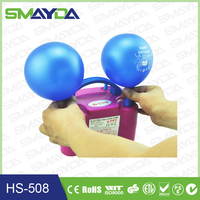 Party Supplies electric balloon pump ABS material with CE,CTICK,ROSH