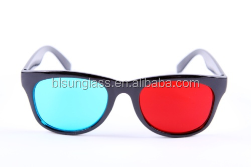 China 3d glasses Custom Plastic sunglasses