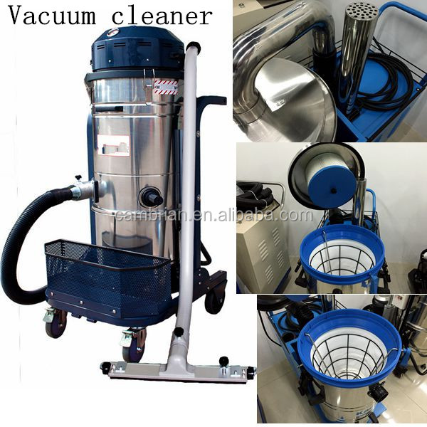 220V/380V electric cleaning equipment industrial wet dry vacuum cleaner with 60L/80L