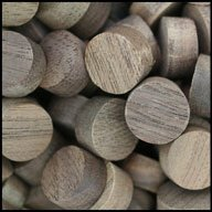"WIDGETCO 1/2"" Walnut Wood Plugs, Face Grain"