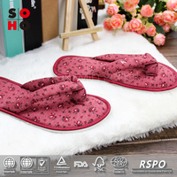 best price man antique child coral fleece rubber slipper