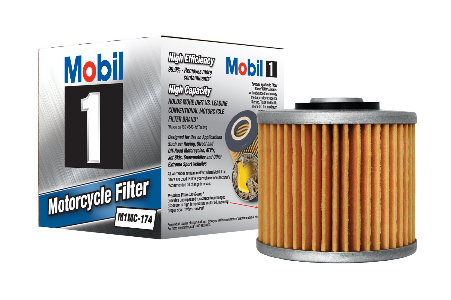Cheap Autozone Motorcycle Oil Filter Find Fram Top Fuel Racing Get Quotations Mobil 1 M1mc 174 Pack Of 6