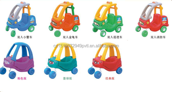 lovely plastic kids police coupe car small toy cars for children to drive