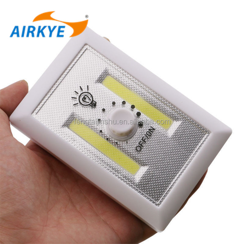 Battery Operated Cordless Super Bright COB LED Technology switch light