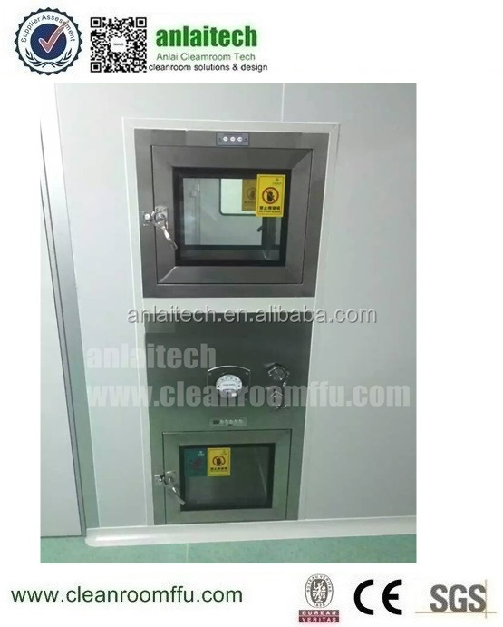 Cleanroom Transfer Hatch Air Shower Pass Box With Uv Lamp Buy