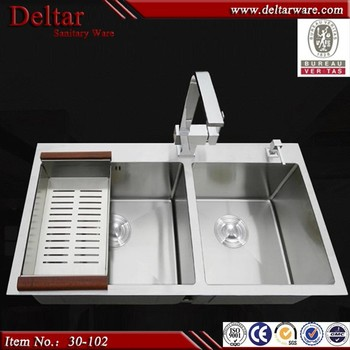 Ukuran Kecil Ganda Bowl Dapur Sink High Kualitas Harga Murah Di Alibaba Bar Untuk Dijual