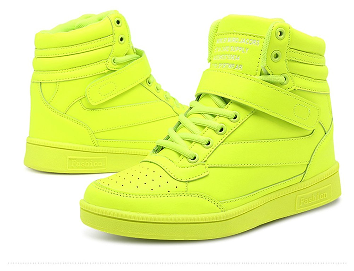 23a8c38788a5 Get Quotations · Wedges Sneakers for Women Hightop
