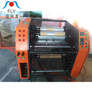 Easy Controlled Machine for Rewinding PE Stretch Film