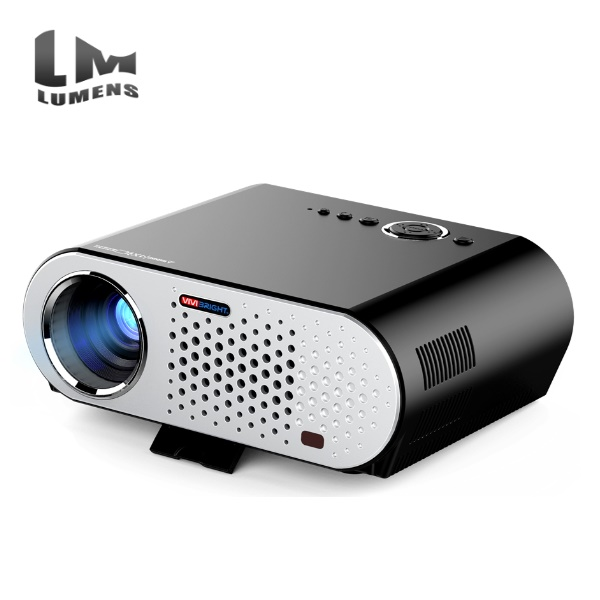 GP90 1280x800 Full HD 3200 Lumen LED Projector GP90UP 1GB/8GB Android 4.4 Bluetooth WIFI Home Projector Support HDMI USB