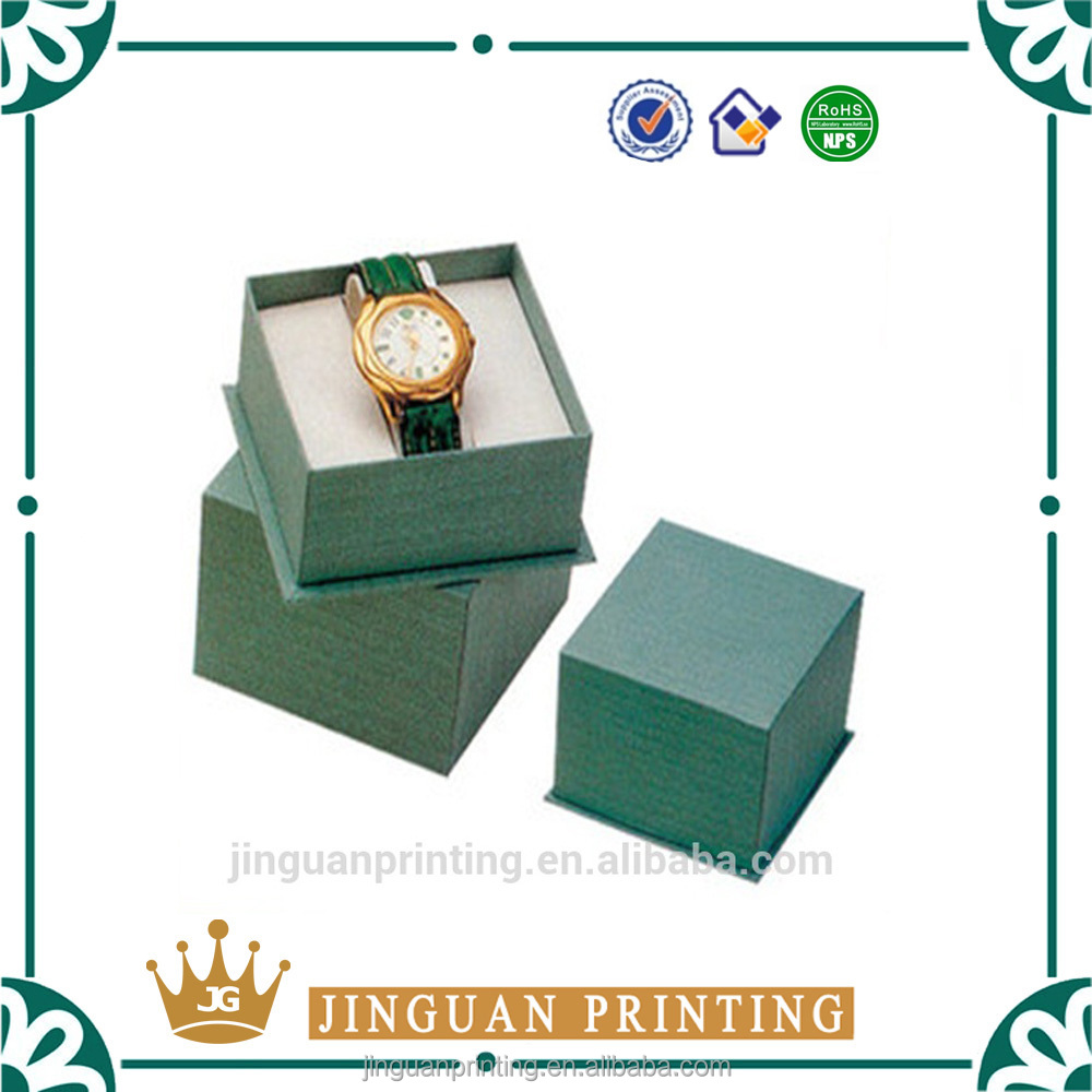 Full color print cardboard luxury gift packaging unique customized watch box