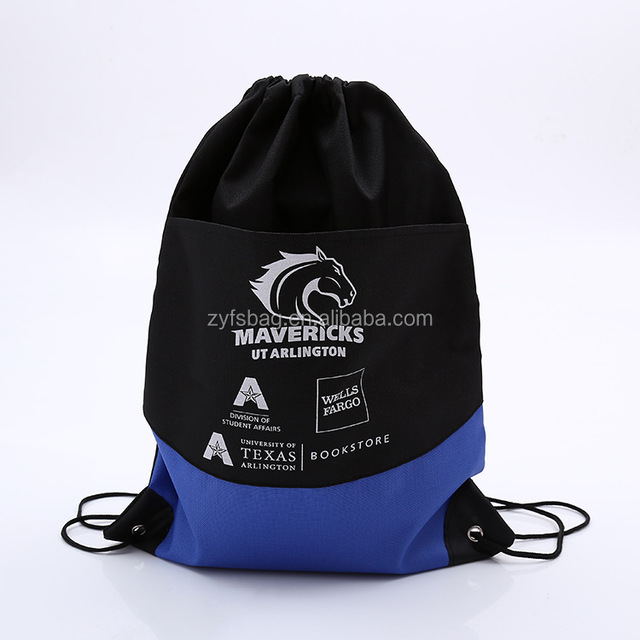 1f4c2ccd809 Drawstring backpack style drawstring gym bag, custom gym bag for book store