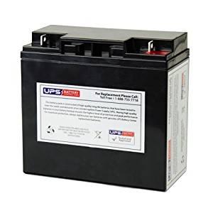 12V 18Ah NB AGM Battery replaces PE15-12, PE17-12, 6-DFM-17, HG-17-12, HG-18-12, HP15-12, HP17-12, HP18-12, FM 12180, BT18-12, BSL1116, BSL1115, BSL1117, PC1218, RB12180, SA12170, SA12180, WP17-12