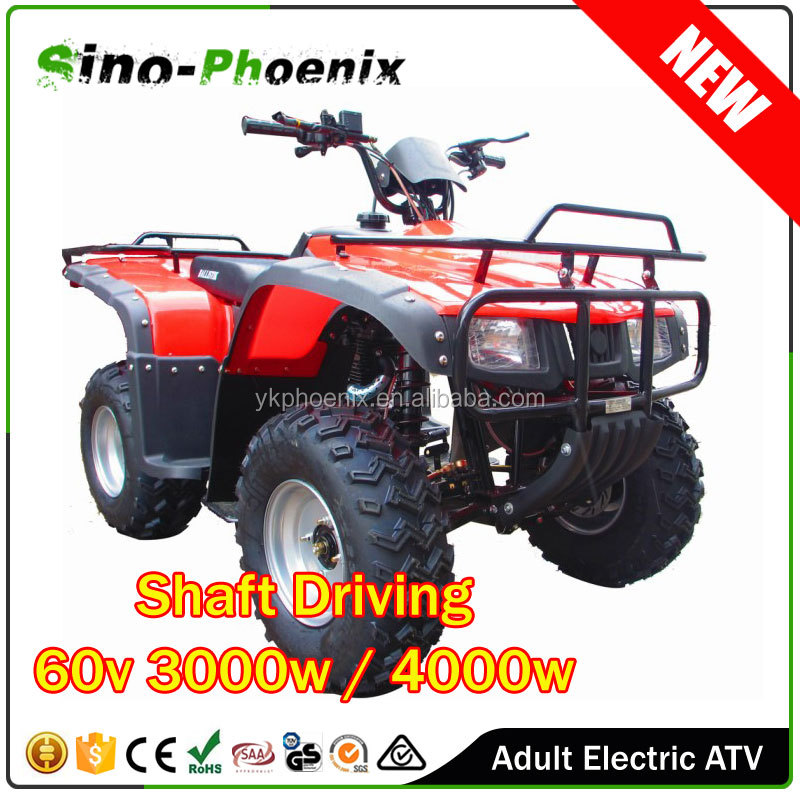 China Made 60v 50Ah 3000w 4000w electric atv buggy/adult electric atv/shaft drive atv ( PH-E7002 )