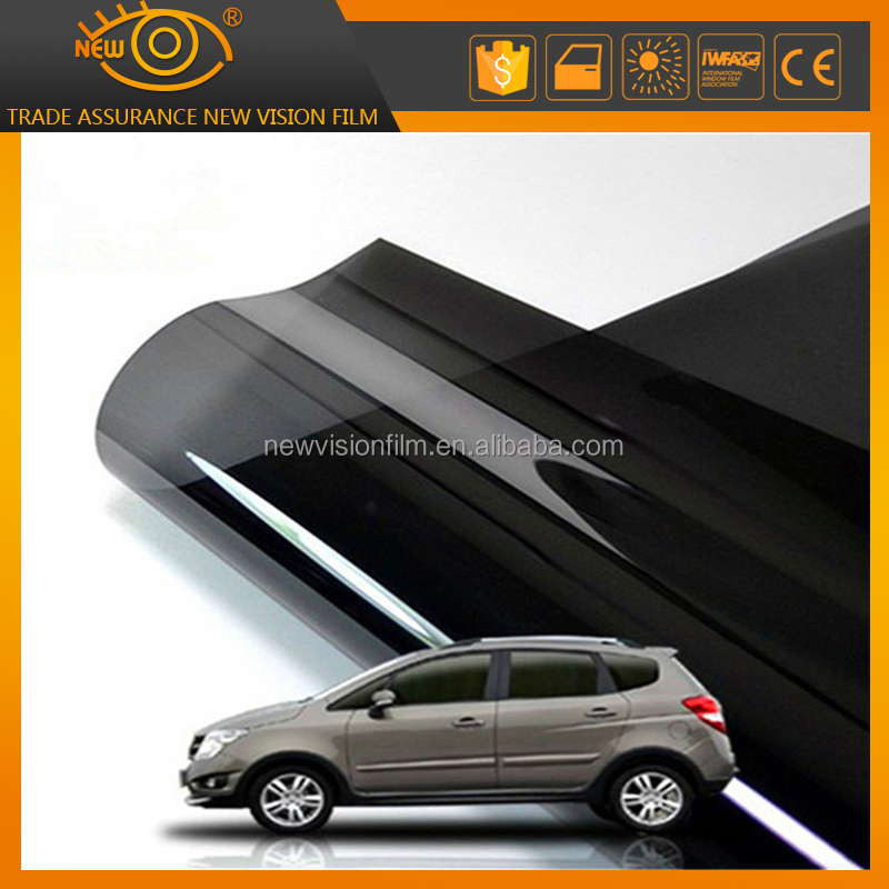 2017 anti-glare window film uv protection scratch resistant removable car glass sticker PET tinted car glass solar film