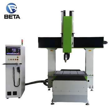 China Mini 5 Axis Wood Cnc Router Carving Machine Price List For
