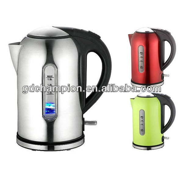 # 201 SS body with mat / polishing electric kettle