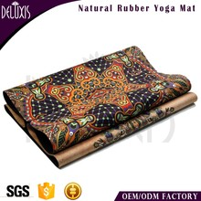 Wholesale Custom Printed Yoga Mats Eco - Friendly Oriental Rubber Manufacturer Tpe Yoga Matt