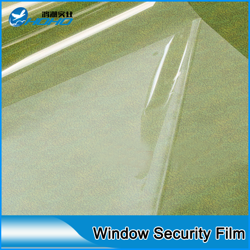 New Clear Security Window Film Shatterproof Safety Protection/Safety Film