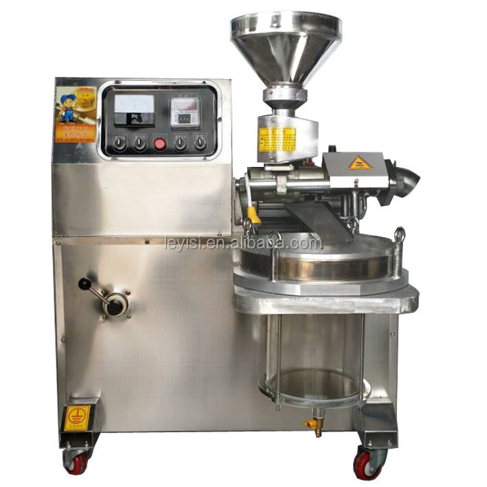 Fully automatic cold castor oil press machine for sesame and sunflower