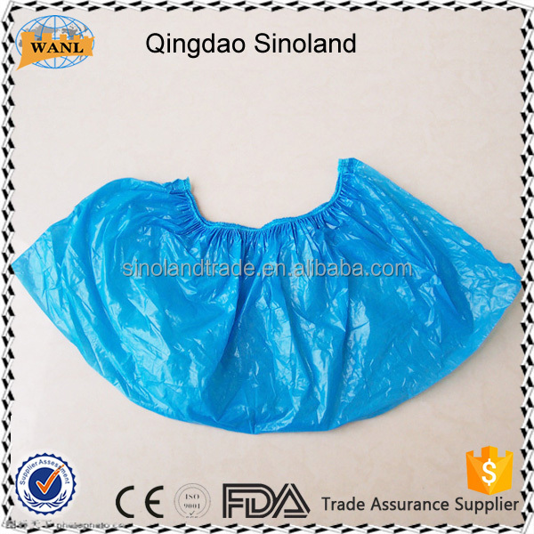 CPE / PE Medical Shoe Cover for Medical Clinic