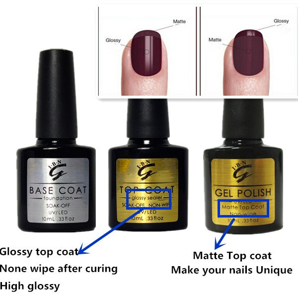 Top Coat And Shirt Base PolishBlack Tie Nail Bow 435RLAj