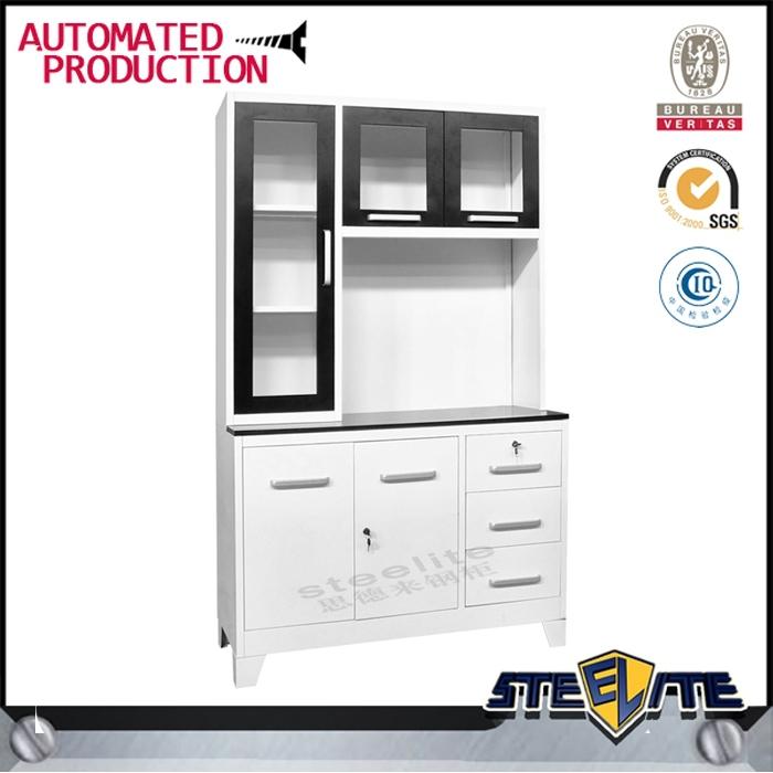 High Gloss Kitchen Cabinet Doors: Metal High Gloss Kitchen Cabinet / Steel High Gloss