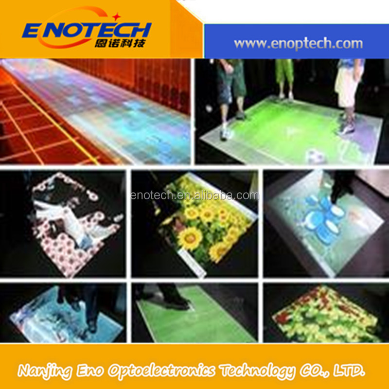 dancing floor/ interactive floor projector /software