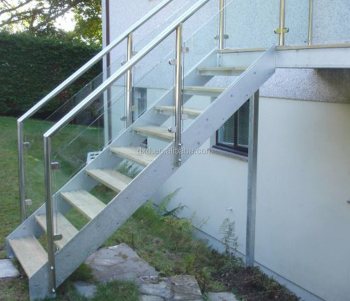 Outdoor Glass Stair Outdoor Staircase Design / Exterior Stair Design / Outdoor  Metal Staircase