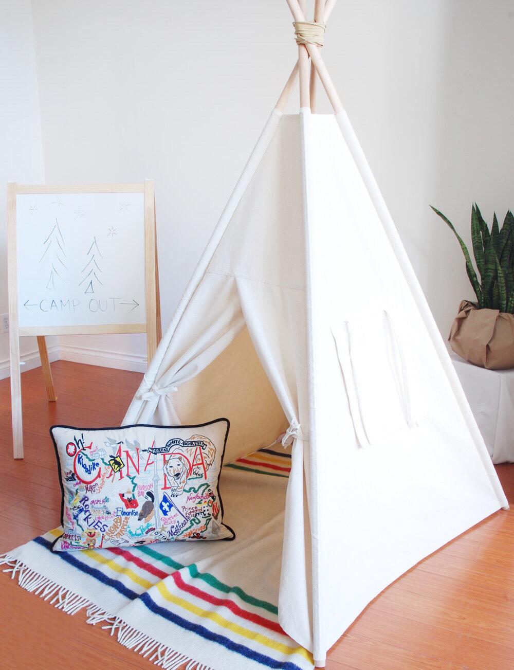 Kids Indian Teepee Tent Children Indoor Playhouse Children Tipi For Sale