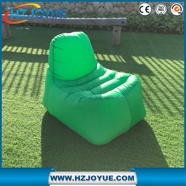 Fast inflatable sofa Camping Portable inflatable sleeping bag Beach Bed Air Hammock Nylon Banana inflatable lounger