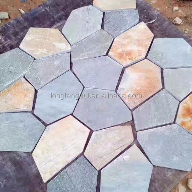 Used for garden beautiful natural flagstone pavers price