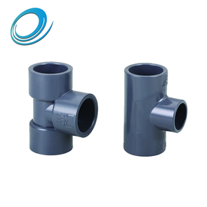 32mm 40mm pvc reducing tee sizes water supply pipe fittings
