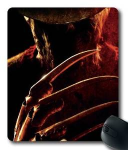 Freddy Krueger Custom Cloth Top Mouse Pad/Mouse Mat