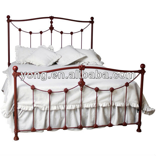 cheap queen size wrought iron beds