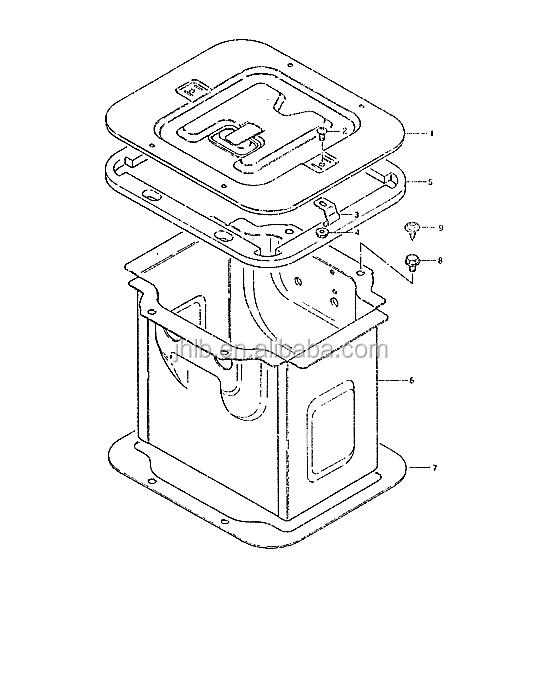 66400 79502 Accumulator Assy Used For Suzuki Carry View Accumulator