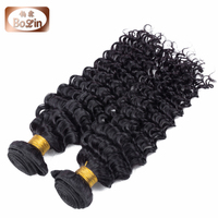 100% raw unprocessed virgin brazilian hair deep wave 5a human hair extension deep wave color 33
