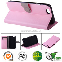 mobie phone case leather flip cover for iphone6 back cover